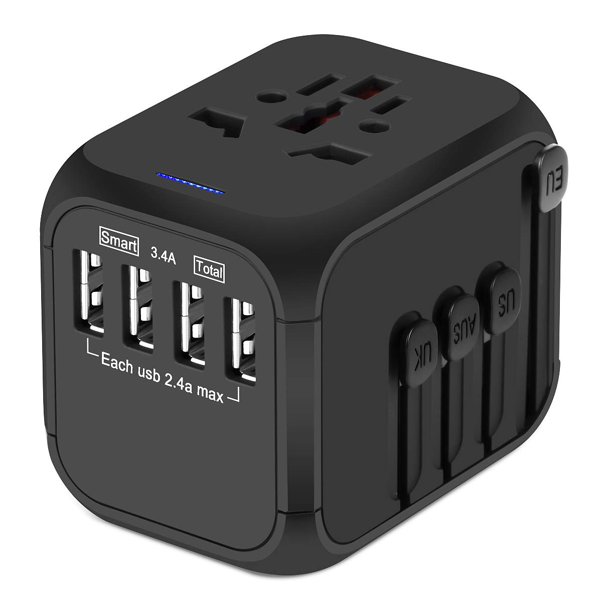 Upgraded Universal Travel Adapter Castries