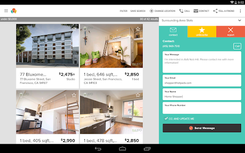 HotPads Apartments & Rentals- screenshot thumbnail