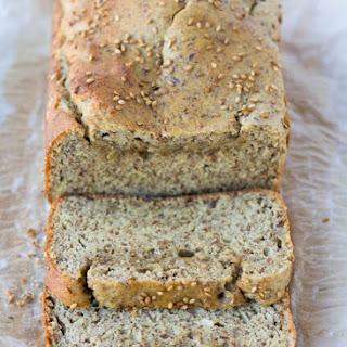 Keto Low Carb Coconut Flour Bread.