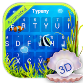 Seaworld Theme&Emoji Keyboard