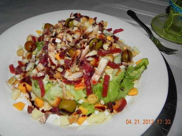 Mountaintop Salad Recipe