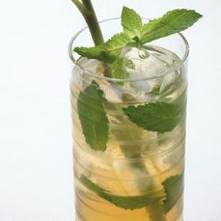 Iced Mint Green Tea.