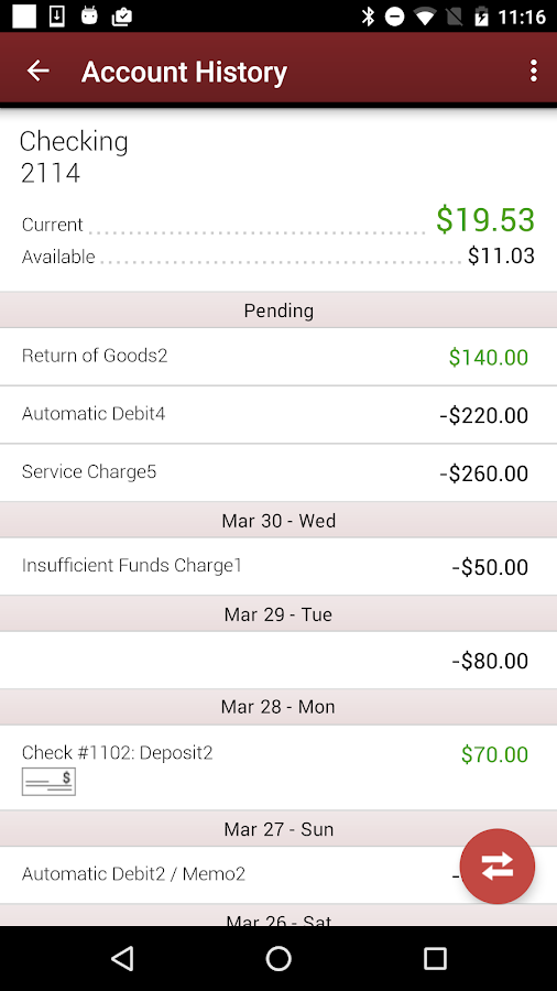 SIS Mobile Banking- screenshot