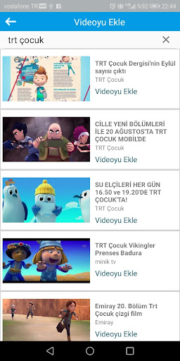 Cartoon Application - Children Youtube 3 screenshots 2