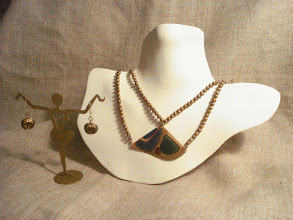 Photo: <BEREHYNYA> {Great Goddess Protectress} unique one-of-a-kind statement jewellery by Luba Bilash ART & ADORNMENT  Copper enamel pendant, freshwater pearls, brass, 14K gold vermeil NFS  http://www.wikihow.com/Clean-A-Pearl-Necklace
