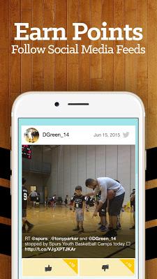 San Antonio Basketball Rewards - screenshot