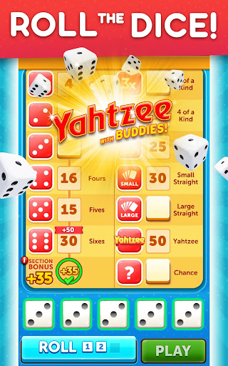 YAHTZEEu00ae With Buddies Dice Game 7.1.0 screenshots 8