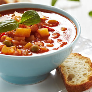 Hearty Vegetable Soup.