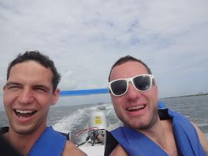 Photo: Další den jsme si zaplatili rychloloďky se šnorchlingem. Docela prča.