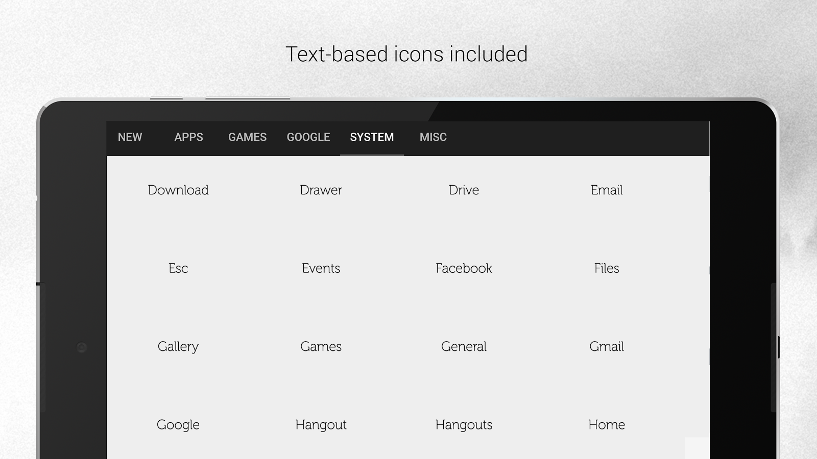 Google themes black and white - Flight Dark Flat Icon Theme Screenshot