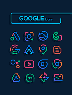 Linebit – Icon Pack (MOD, Paid) v1.5.3 3