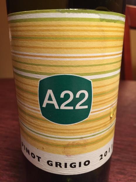 Logo for A-22 Pinot Grigio
