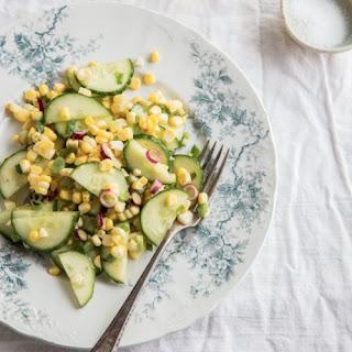 Cucumber-Corn Salad
