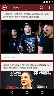 MMA FightCreed: News, Events, Videos, Social Media - náhled