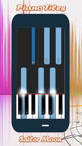 Piano Tap Sailor Moon screenshot 2