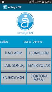Antalya IVF İlaç Hatırlatma screenshot 1