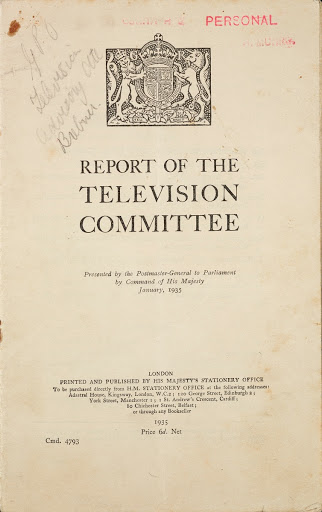 Report of the Television Committee
