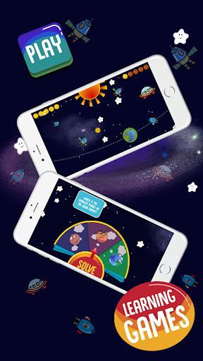 Solar Family - Planets of Solar System for Kids  screenshots 2