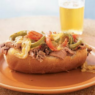 Lean Philly Cheesesteaks.
