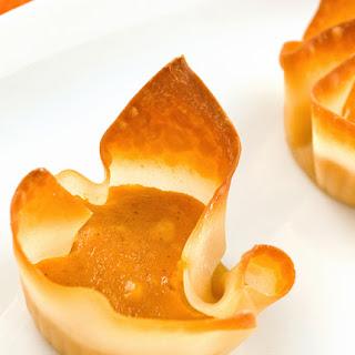 Pumpkin Cheesecake Bites.