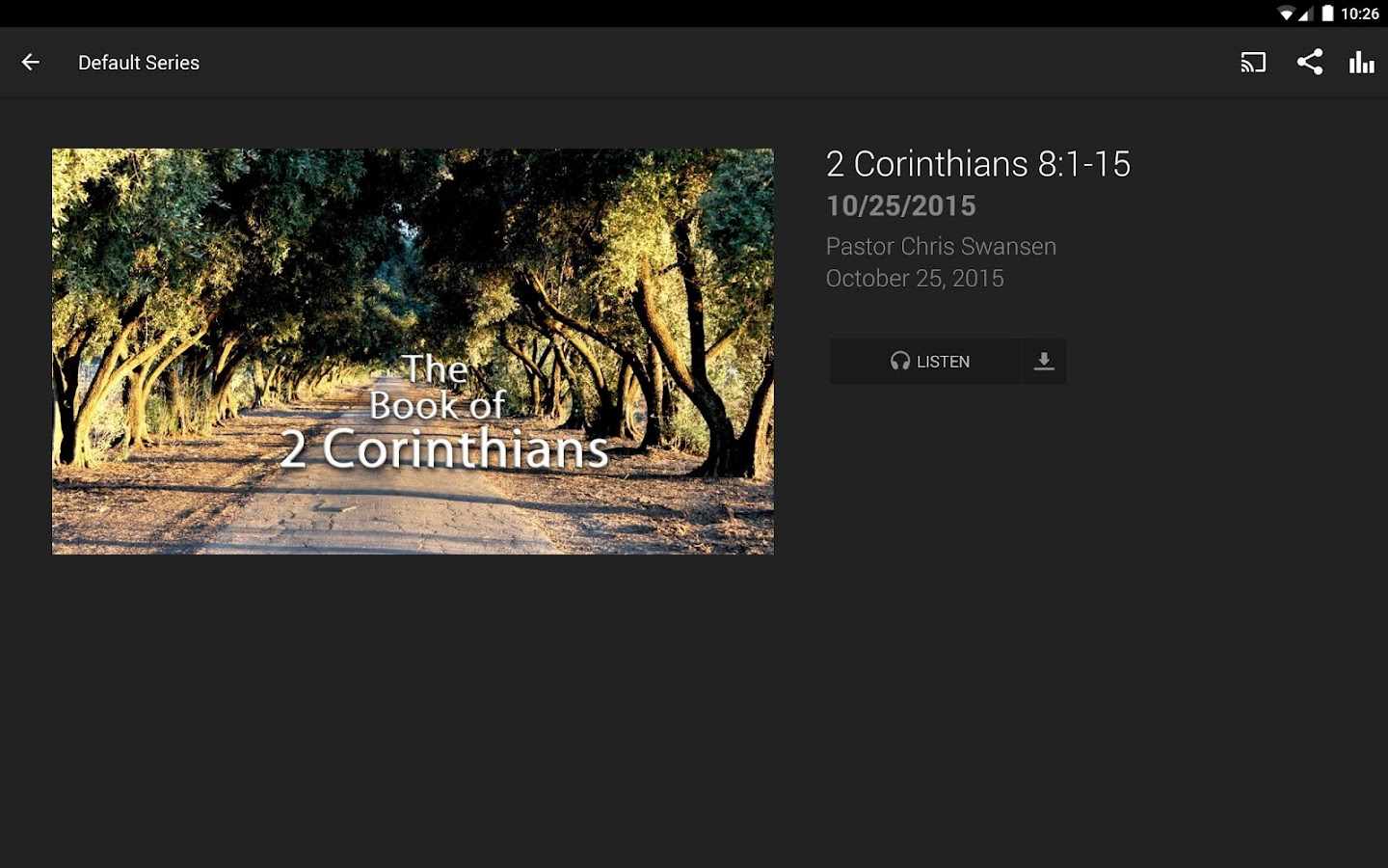 Calvary Chapel Chester Springs- screenshot