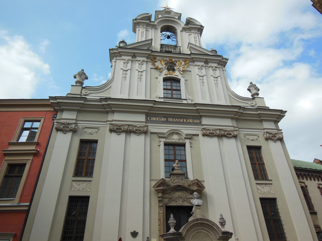 Iglesia de Cristo Transfigurado de Cracovia.