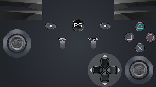 ShockPad: Virtual PS4 Remote Play Dualshock 3