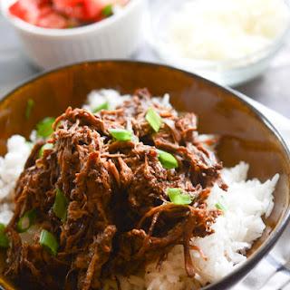 Slow Cooker Barboca Beef