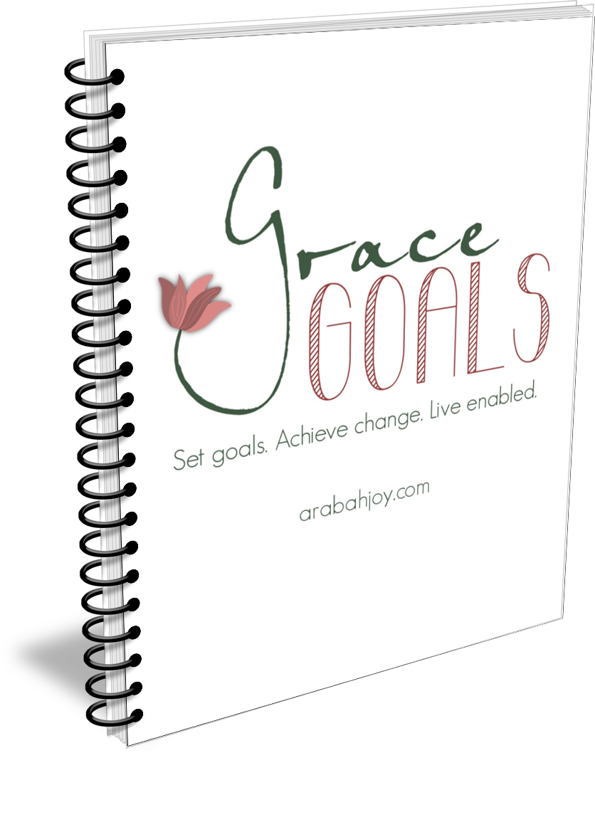 This goals planner is unlike anything you've seen. It's goals with grace or Grace Goals.