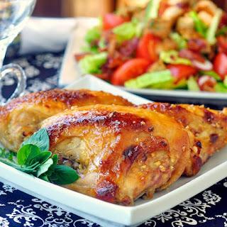Glazed Honey Dijon Chicken Breasts.