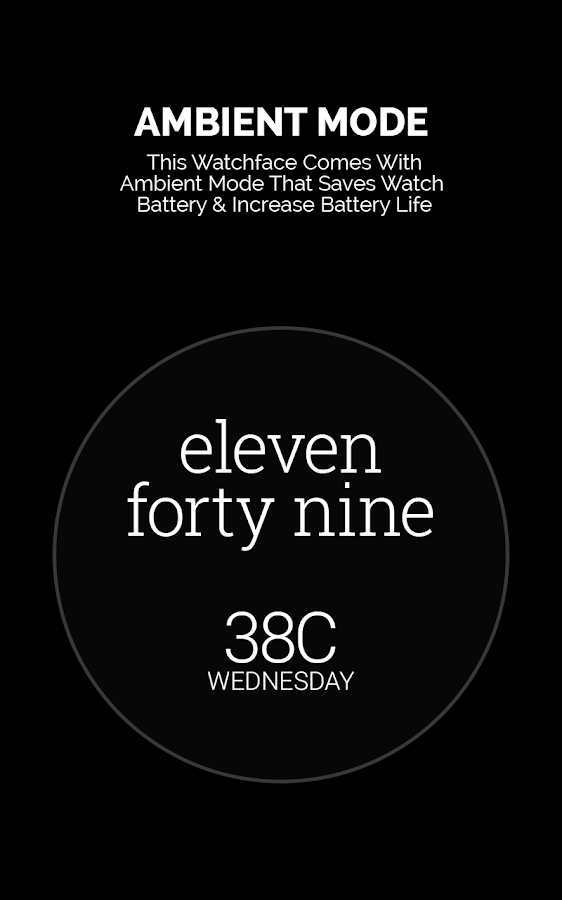 Popular Watch Face- screenshot