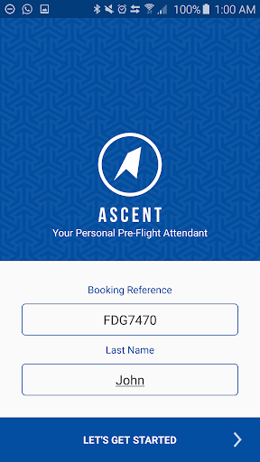 ASCENT: Pre-flight attendant