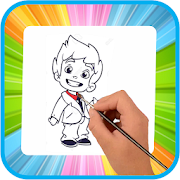 Coloring && Drawing: Paint Paper-Kids Learning Game