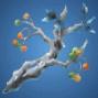 雲海樹の落枝