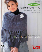 Photo: ONDORI I LOVE KNIT SHAWL, CAPE, BOLERO