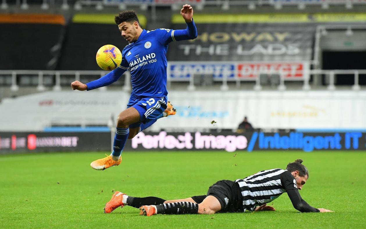 Leicester City đã đánh bại Newcastle United 2-1 ở trận lượt đi