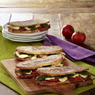 Ham and Mozzarella Panini