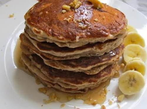 "Oatmeal Cookie Pancakes""I used whole wheat flour - oh so very good!""..."