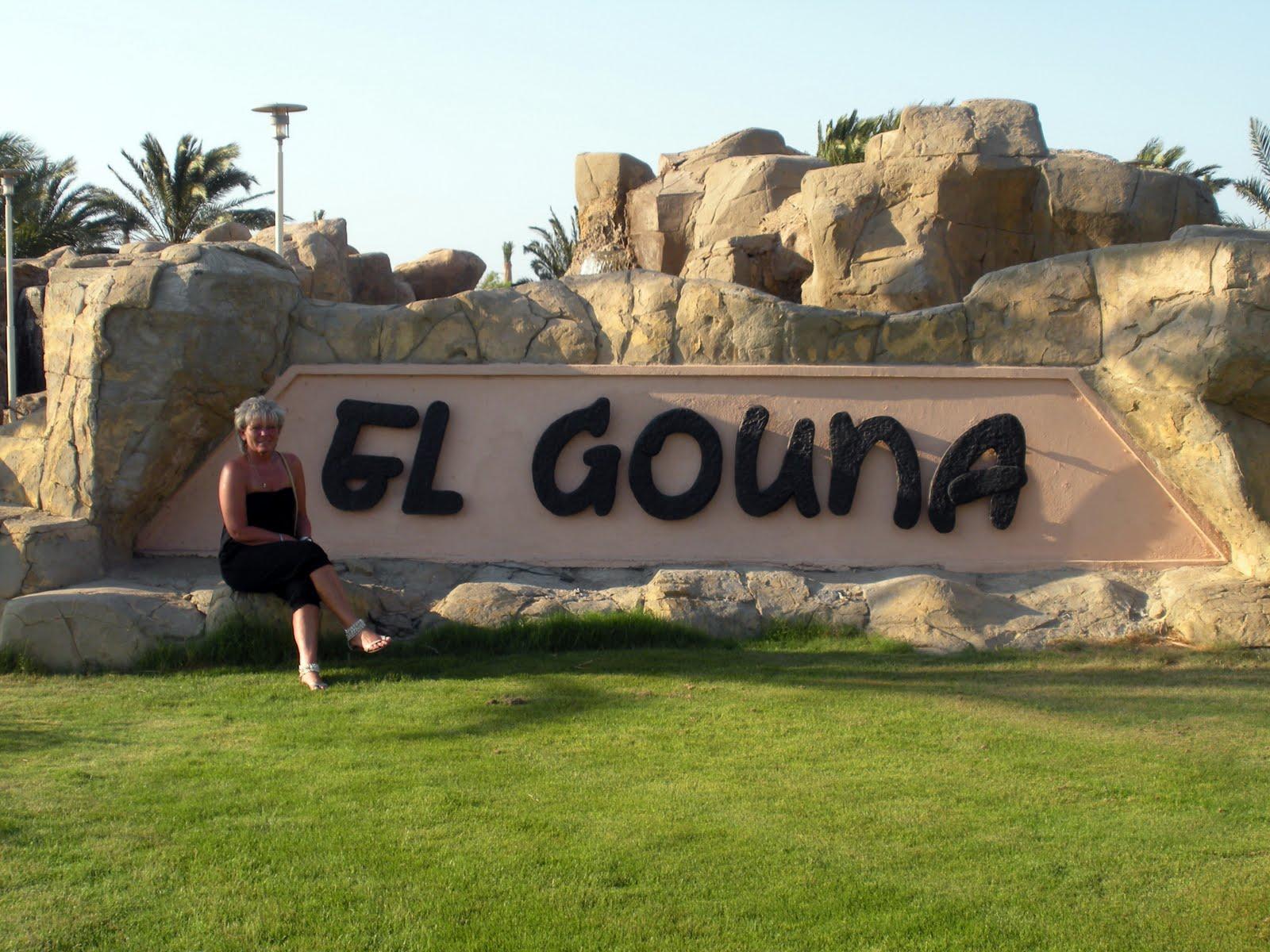 "Photo: Der ""Eingang"" nach El Gouna..."