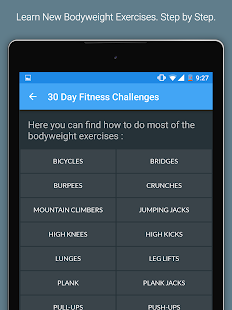 30 Day Fitness Challenges Screenshot 9