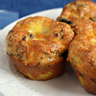 Egg and Cheese Breakfast Muffins with Mushrooms and Thyme Recipe