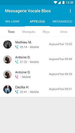 Messagerie Vocale Bbox  screenshots 3