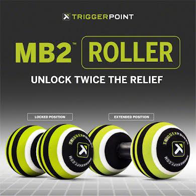 """Trigger Point MB2 Massage Roller Ball Set: 2.6"""" diameter, Green/Black,White alternate image 0"""