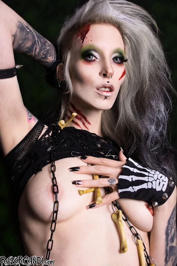 Razor Candi Gothic Sluts