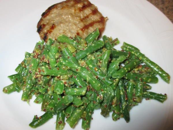 Dressed Green Beans Recipe