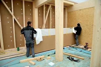 Photo: 08-11-2012 © ervanofoto Afwerking van de trap.