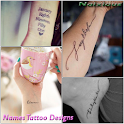 Name Tattoo Design Ideas icon