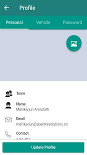 Fudbasket Driver App - náhled