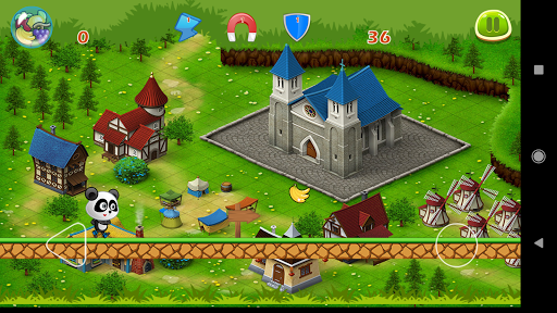 Panda Run Fruits screenshot 5
