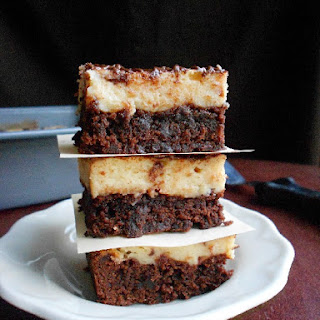 Cappuccino Cheesecake Brownies
